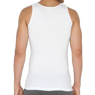 Chromozome Regular Fit Vest For Men_10556 - White