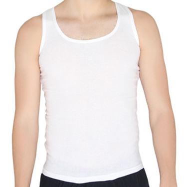 Chromozome Regular Fit Vest For Men_10560 - White