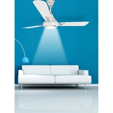 Luminous 1200MM Lumaire Underlight Ceiling Fan Mint White