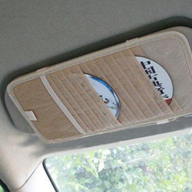 Combo Of Car Accessories + Anti Slip mat + Dvd Visor + Blind Spot Mirror + Aux Cable + Hanging Car air freshner