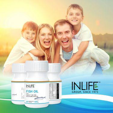INLIFE Fish Oil - 60 Capsules