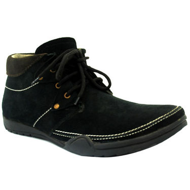 Foot n Style Breezy Boots - Black