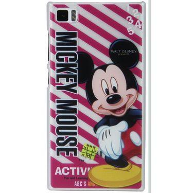 Snooky Designer Hard Back Cover For Xiaomi Mi3 Td13499