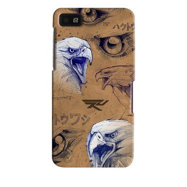 Snooky Digital Print Hard Back Case Cover For Blackberry Z10 Td13613