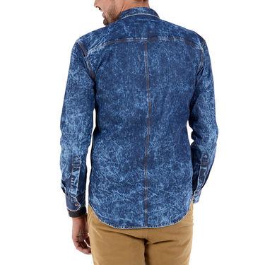 Bendiesel Denim Casual Shirt For Men_Bdc083 - Blue