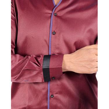 Cotton Casual Shirt For Men_Bdcw035 - Maroon