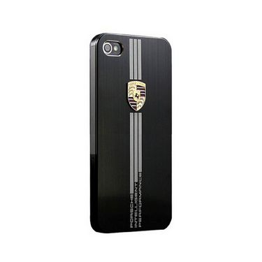 Callmate Porsche Aluminium Back Cover For iPhone 6 4.7inch - Black