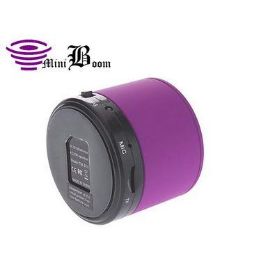 Callmate Sonicten Bluetooth Speaker with Free Anti Slip Mat- Purple
