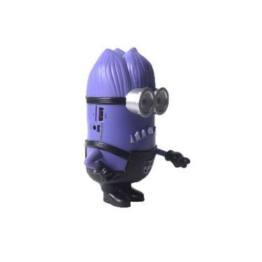 Callmate XC-06 Despicable Me 2 Minion Design Portable Mini Speaker - Purple