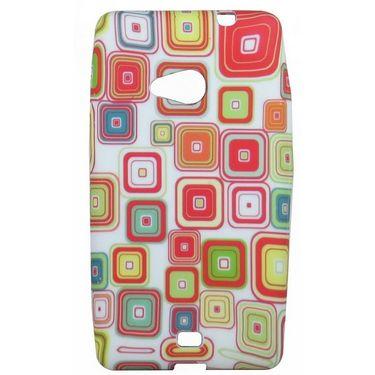 Snooky Designer Soft Back Case Cover For Nokia Lumia 535 - Multicolour