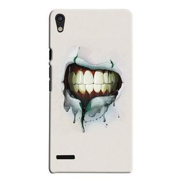 Snooky 19837 Digital Print Hard Back Case Cover For Huawei Ascend P6 - Cream