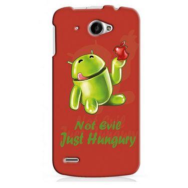 Snooky 20030 Digital Print Hard Back Case Cover For Lenovo S920 - Red