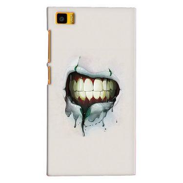 Snooky 20066 Digital Print Hard Back Case Cover For Xiaomi Mi3 - Cream