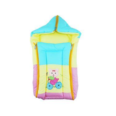 Ole Baby 3 in 1 Icecream Sandwich Reversible Carry Nest Cum Sleeping Bag with Hood_OB-CRNT-B122