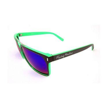 Flying Machine Wayfarer Sunglasses For Men_fms096col205 - Purple & Blue