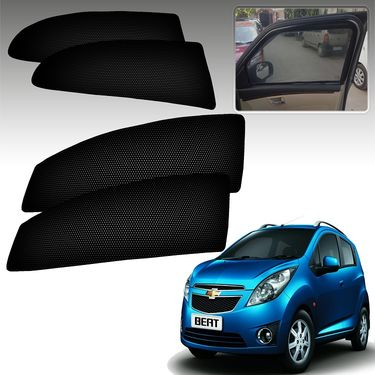 Set of 4 Premium Magnetic Car Sun Shades for ChevroletBeat