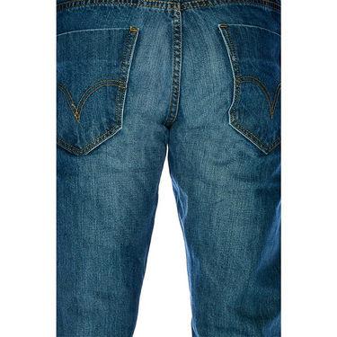 Stylish Branded Jeans For Men - Raymond Cotton Fabric_Npjnwu11 - Blue