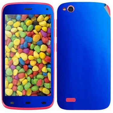 Snooky Mobile Skin Sticker For Gionee Elife E3 20939 - Blue
