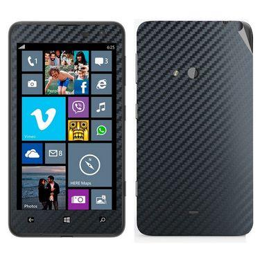 Snooky Mobile Skin Sticker For Nokia Lumia 625 20995 - Black