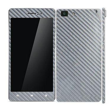 Snooky Mobile Skin Sticker For OPPO R5 20914 - silver
