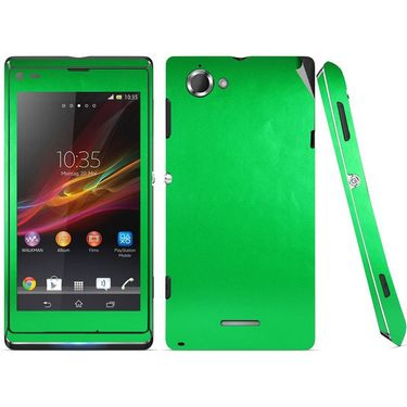 Snooky Mobile Skin Sticker For Sony Xperia L S36h C2105 20816 - Green