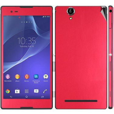 Snooky Mobile Skin Sticker For Sony Xperia T2 Ultra 20829 - Red
