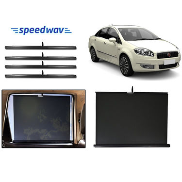 Speedwav Side Window Automatic Curtain/Sunshades -Fiat Linea