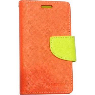 BMS lifestyle Mercury flip cover for Moto G - Orange