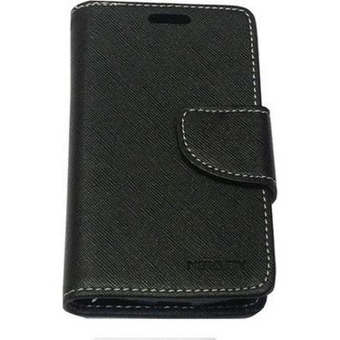 BMS lifestyle Mercury flip cover for Micromax A093 Canvas - Black