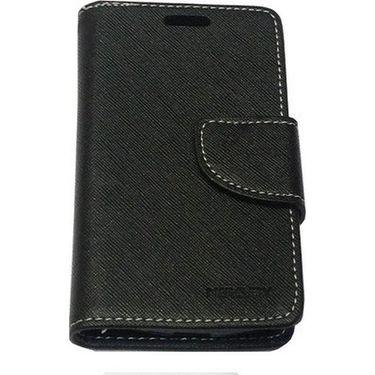 BMS lifestyle Mercury Wallet Flip Book Case Cover for iPad mini - Black