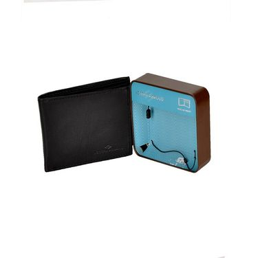 Branded Leather Wallet For Men_jsab1 - Black
