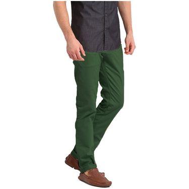 Good karma Cotton Chinos_gkj815 - Green