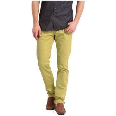 Good karma Cotton Chinos_gkj817 - Light Yellow