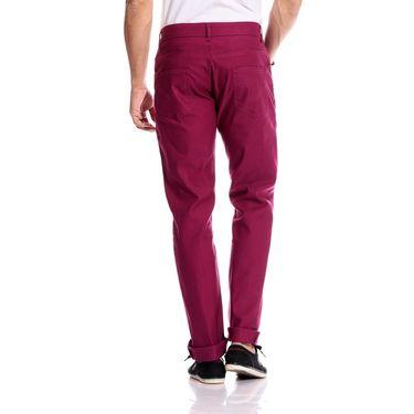 Good karma Cotton Chinos_gkj843 - Dark Pink