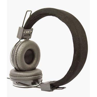 Hitech Xplay Stereo Headphone - Black