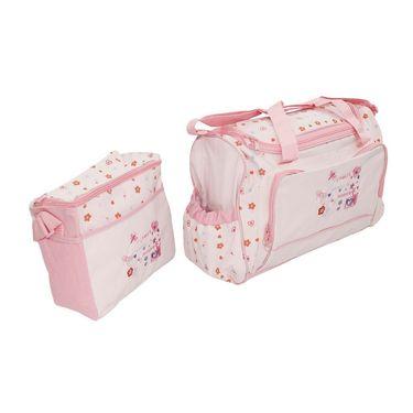 Wonderkids Heart Print Baby Diaper Bag_CH-009-HPDB