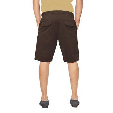 Uber Urban Cotton Shorts_15001cbr - Brown