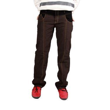 Uber Urban Cotton Trouser_9bndtrscbr - Brown