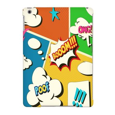 Snooky Digital Print Hard Back Case Cover For Apple iPad Air 23704 - multicolour