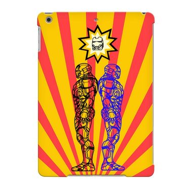 Snooky Digital Print Hard Back Case Cover For Apple iPad Air 23692 - Yellow