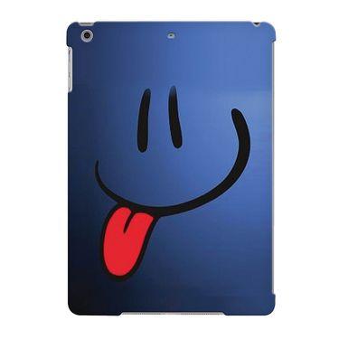 Snooky Digital Print Hard Back Case Cover For Apple iPad Air 23676 - Blue