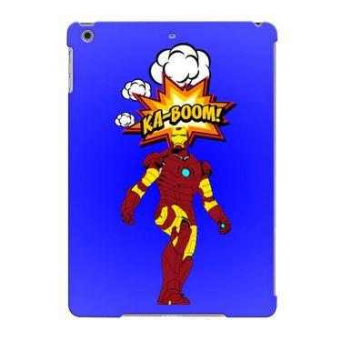 Snooky Digital Print Hard Back Case Cover For Apple iPad Air 23693 - Purple