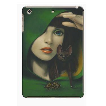 Snooky Digital Print Hard Back Case Cover For Apple iPad Mini 23811 - Green