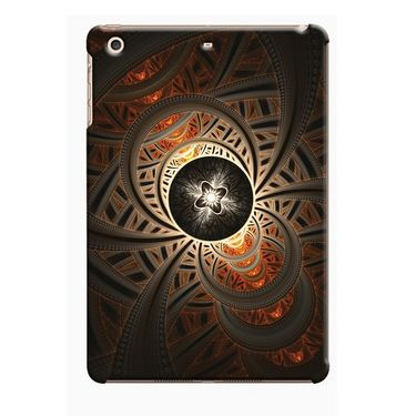 Snooky Digital Print Hard Back Case Cover For Apple iPad Mini 23790 - Brown