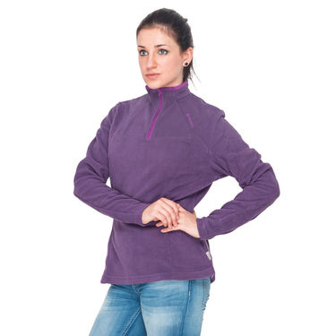 Quechua Purple Warm Wear for Hiking - S