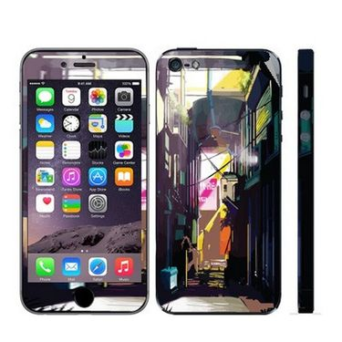 Snooky 28364 Digital Print Mobile Skin Sticker For Apple Iphone 5 - Multi
