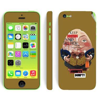 Snooky 28384 Digital Print Mobile Skin Sticker For Apple Iphone 5C - Multi
