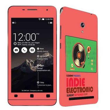 Snooky 27681 Digital Print Mobile Skin Sticker For Asus Zenfone 6 A600CG/A601CG - Multi