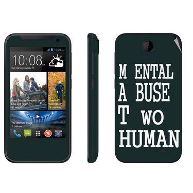 Snooky 27802 Digital Print Mobile Skin Sticker For HTC Desire 310 - Multi
