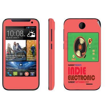 Snooky 27816 Digital Print Mobile Skin Sticker For HTC Desire 310 - Multi